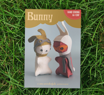 Bunny Patterncard