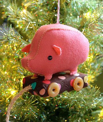 Pig on Wheels