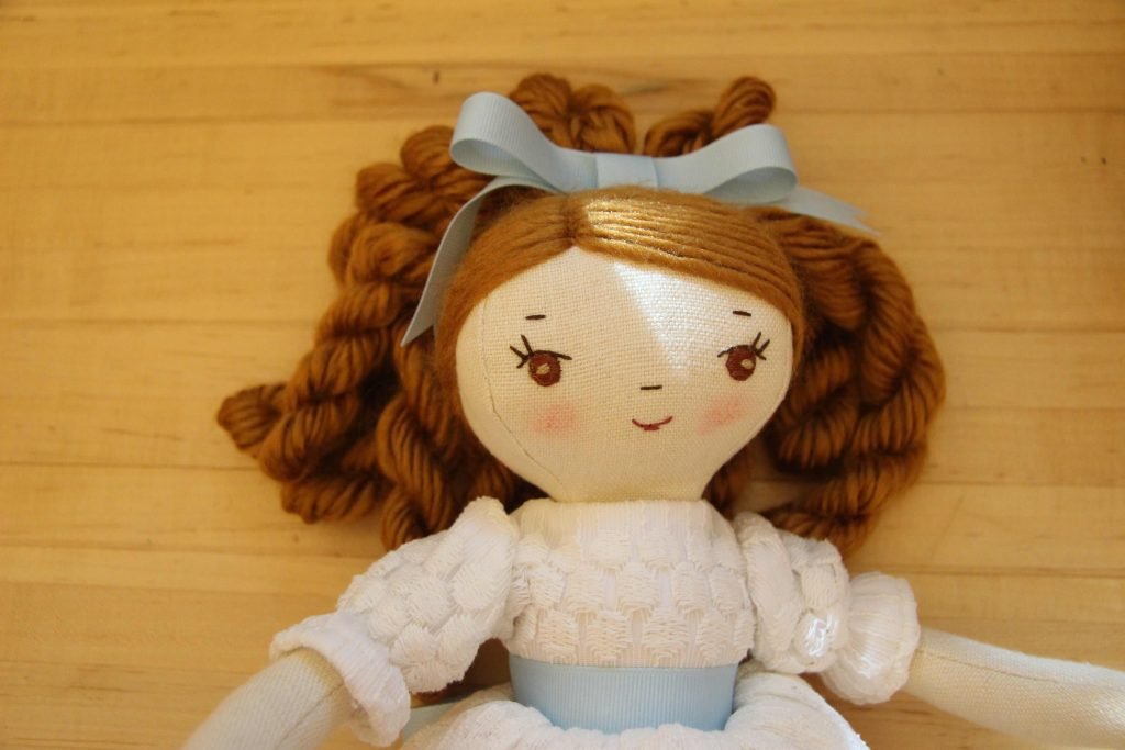 handmade doll Clara from the Nutcracker