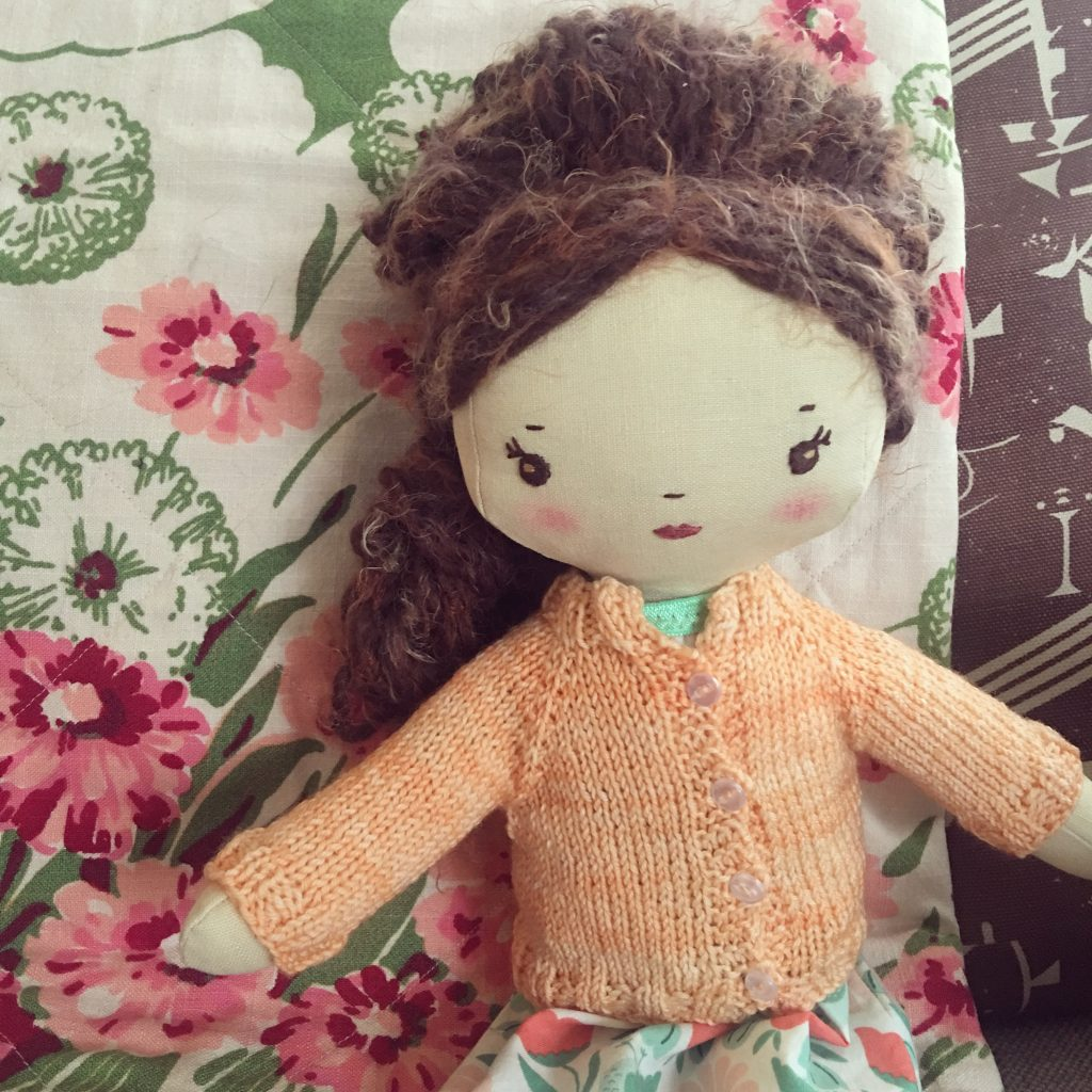 wee wonderfuls handmade original doll