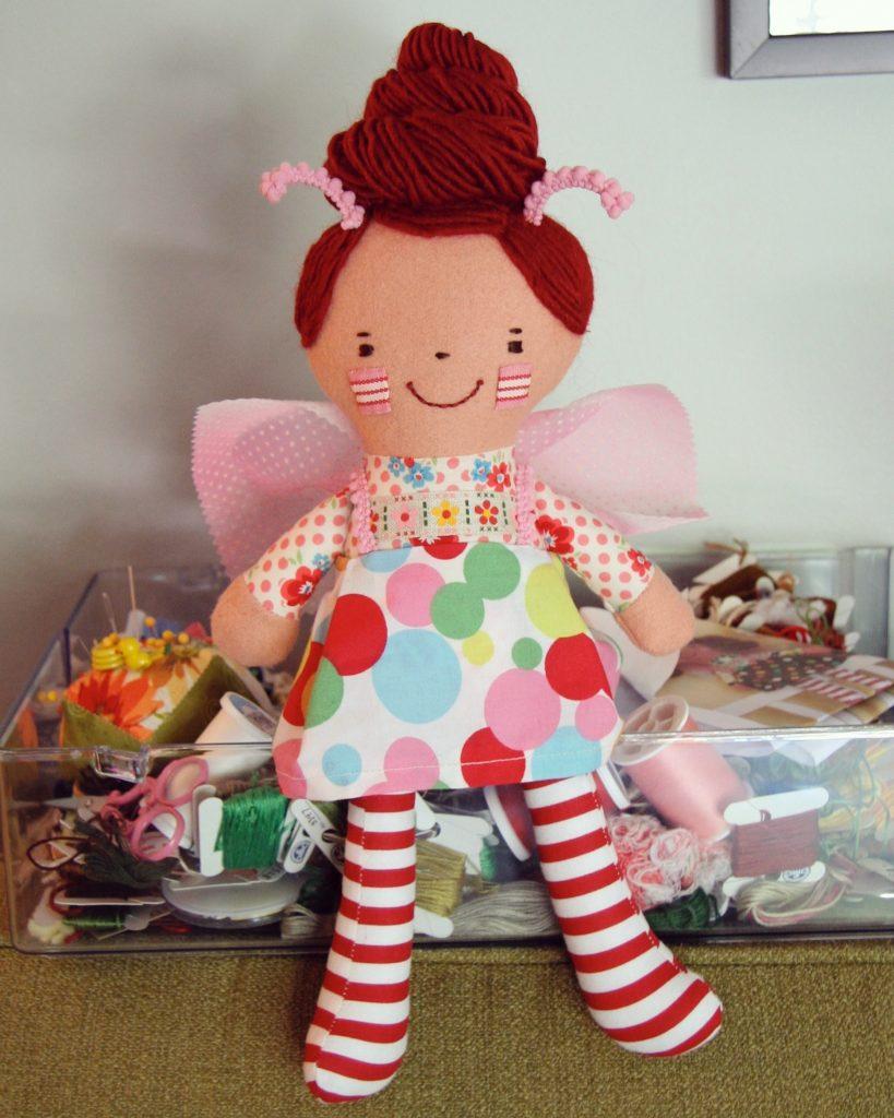 handmade fairy doll