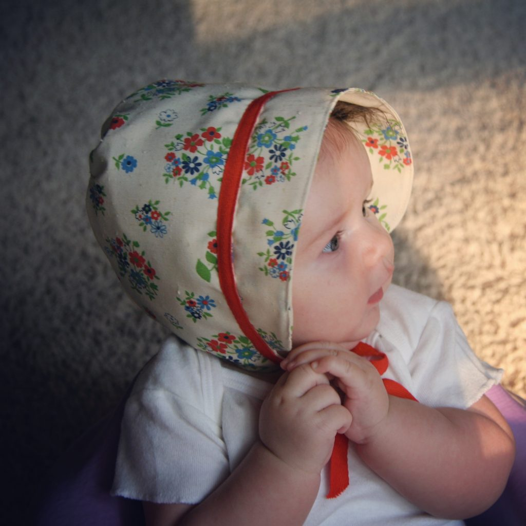 baby bonnet sewing