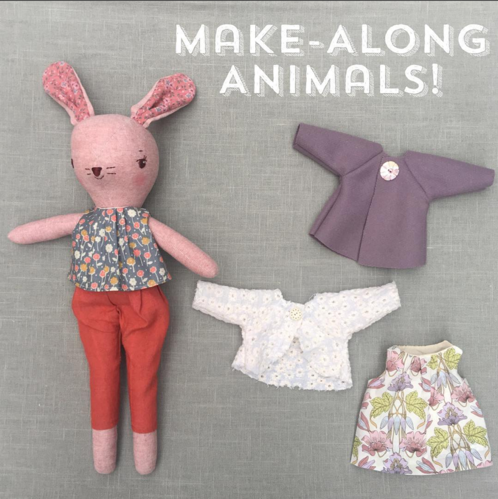 Make-Along Animals Pattern Subscription