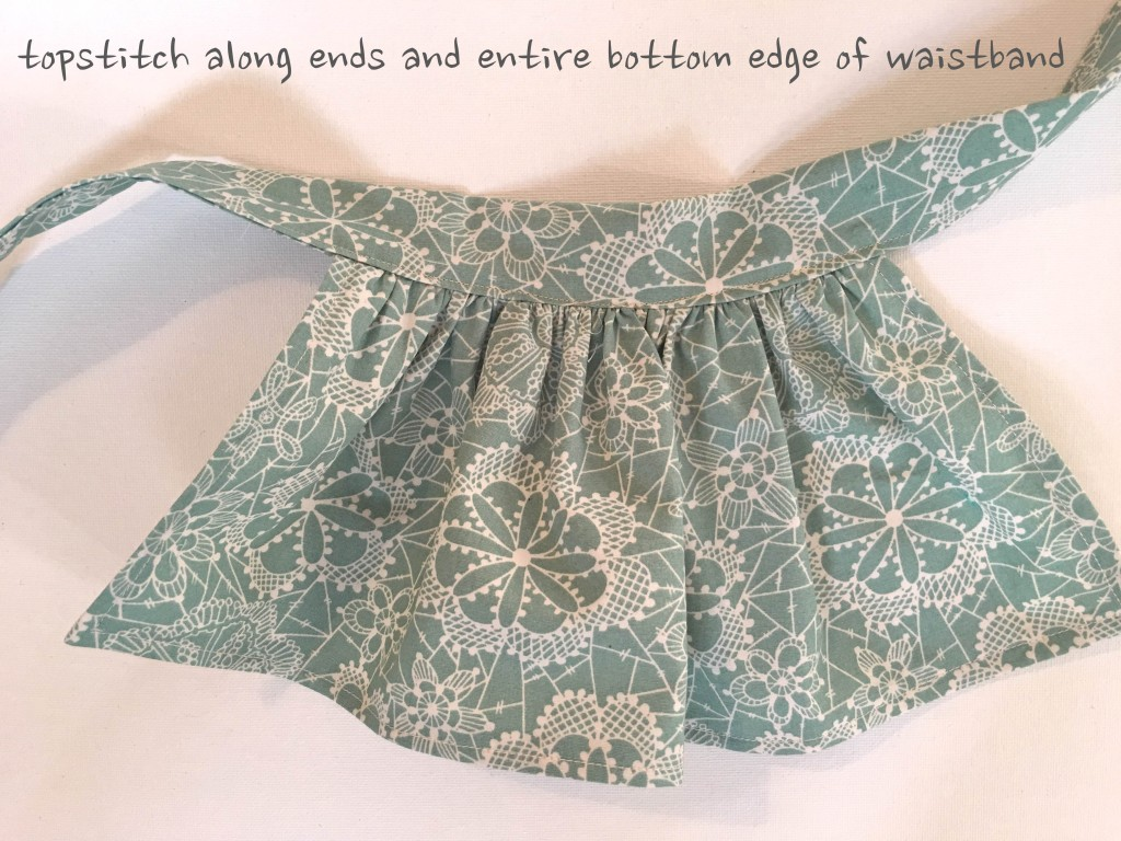 doll clothes sewing quick and easy apron dress