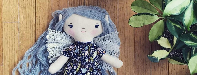 blue fairy doll at wee wonderfuls