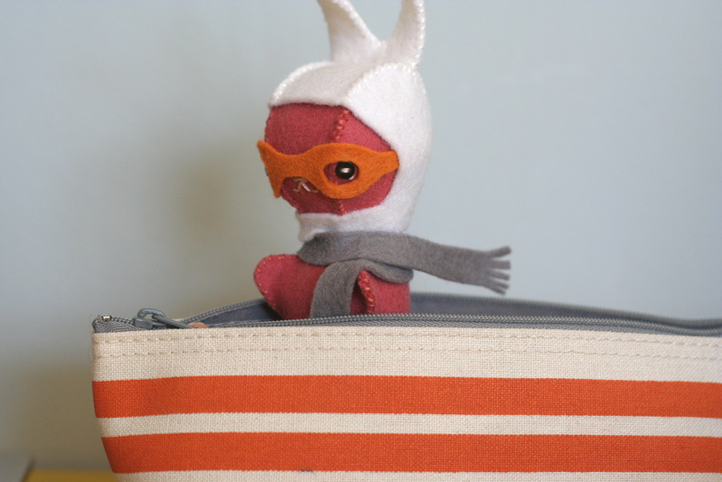 bunny from the hand sewing patterncard