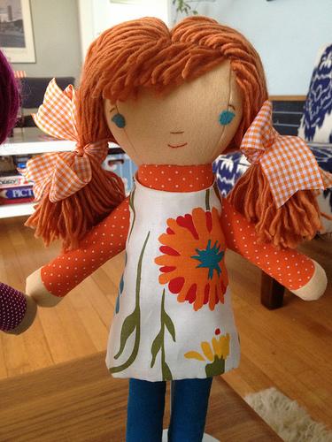 cute redhead from the elsa pattern