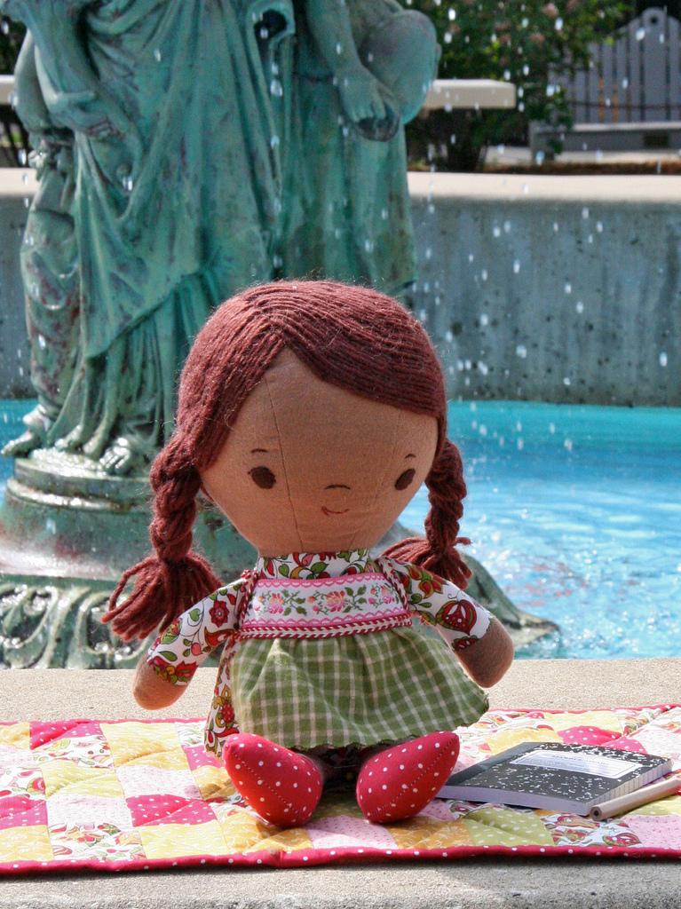 handmade doll at weewonderfuls.com