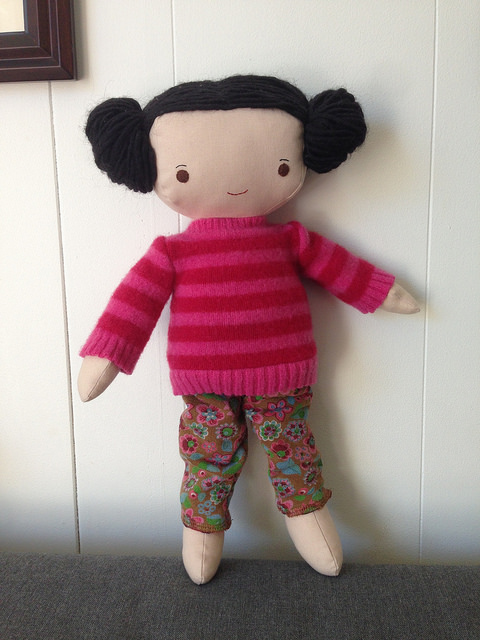 doll sweater and pants
