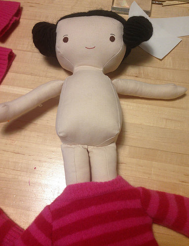 doll sweater how to