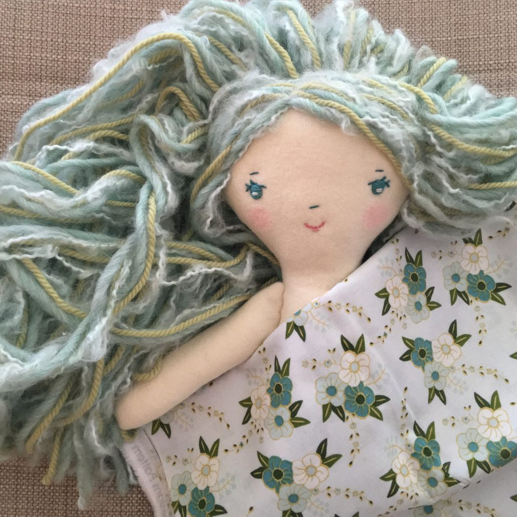 Doll Making Patterns, How to Make a Handmade Doll with the Make-Along pattern subscription at Wee Wonderfuls