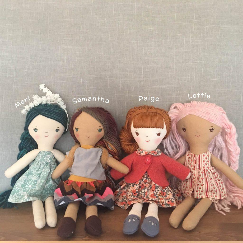 handmade original cloth dolls for sale
