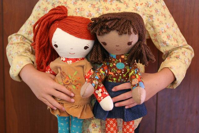 handmade dolls at wee wonderfuls