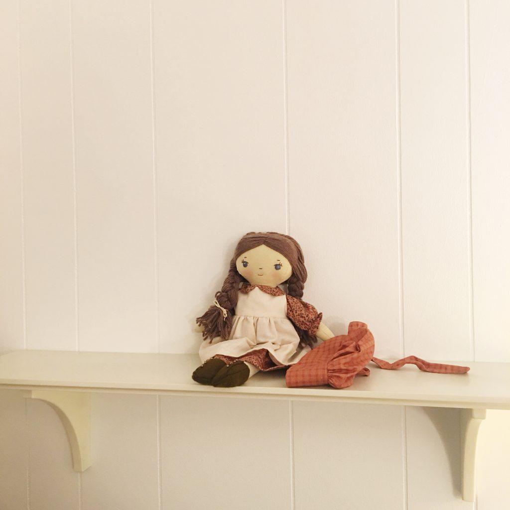 handmade pioneer doll