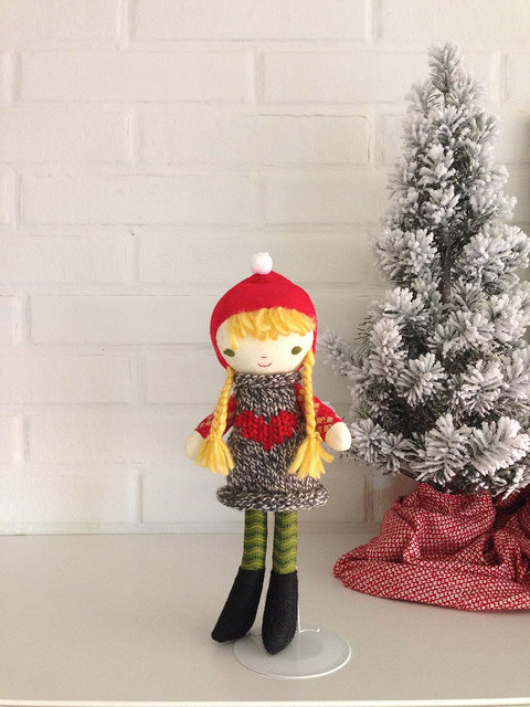 kindness elf handmade doll at wee wonderfuls