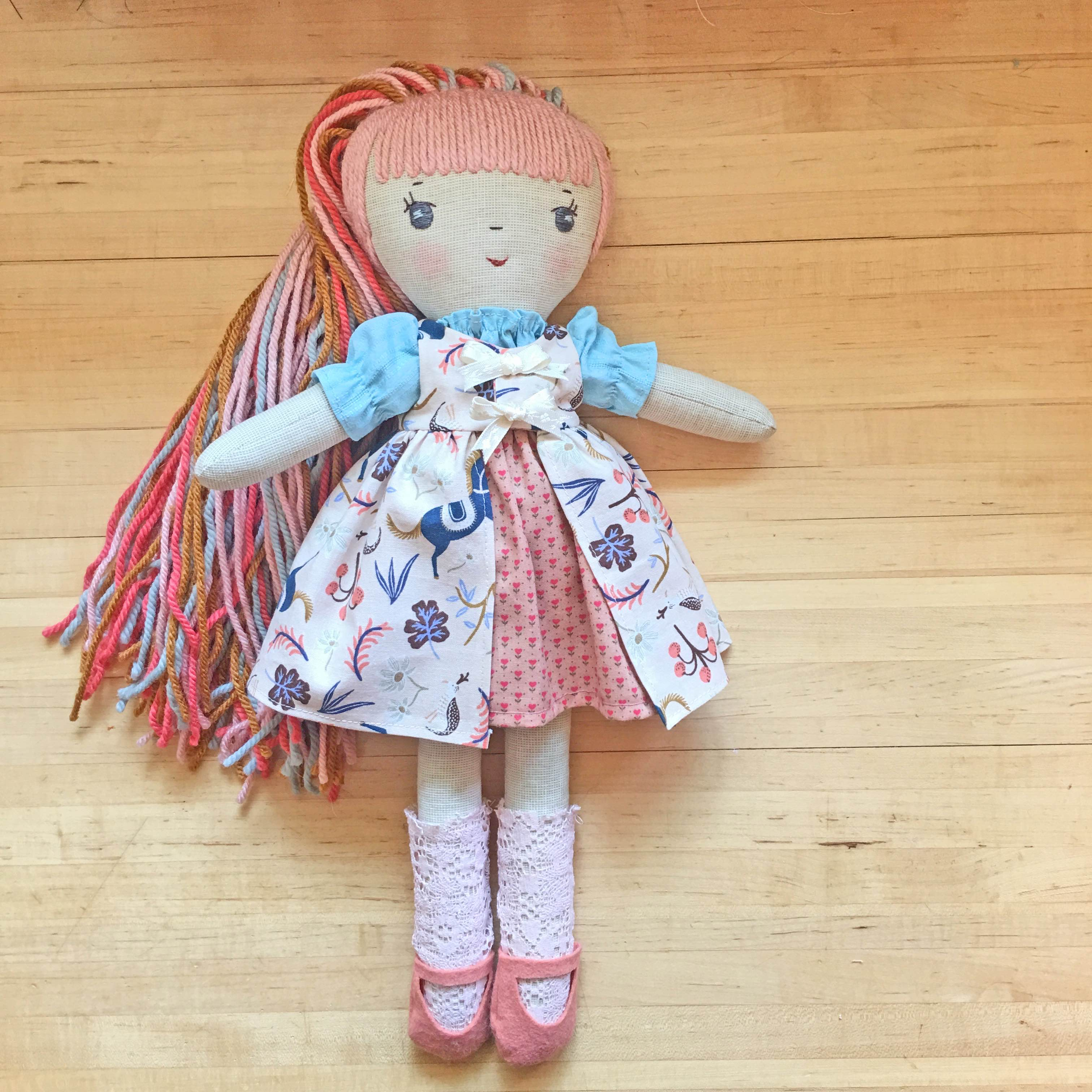 Make-Along Doll princess dress