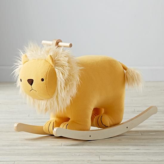 lion rocker at land of nod