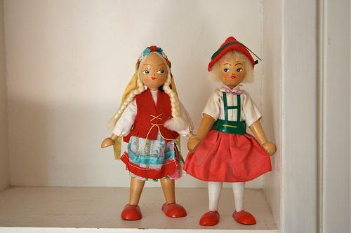 polish folk dolls