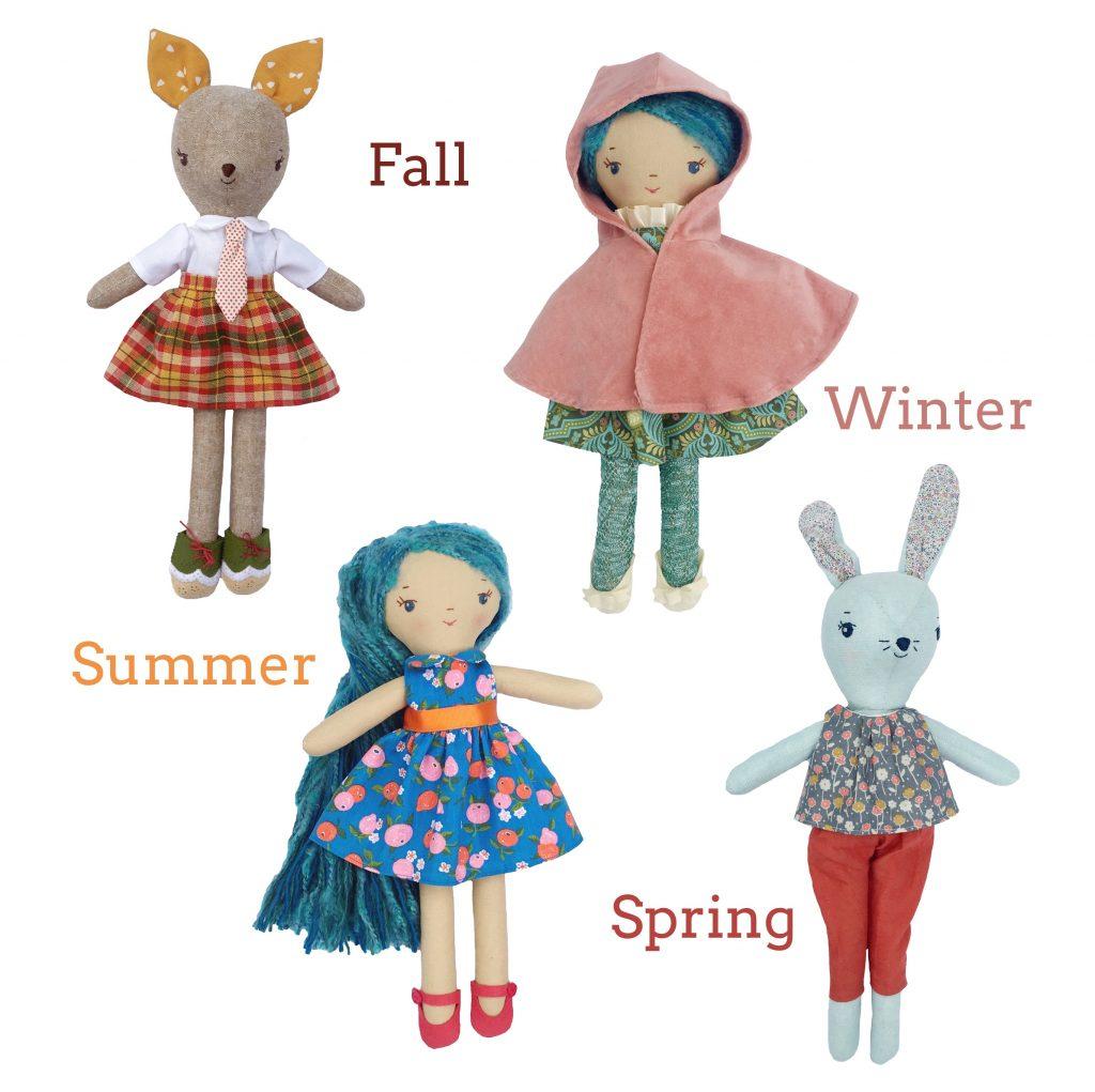 wee wonderfuls make-along doll clothes