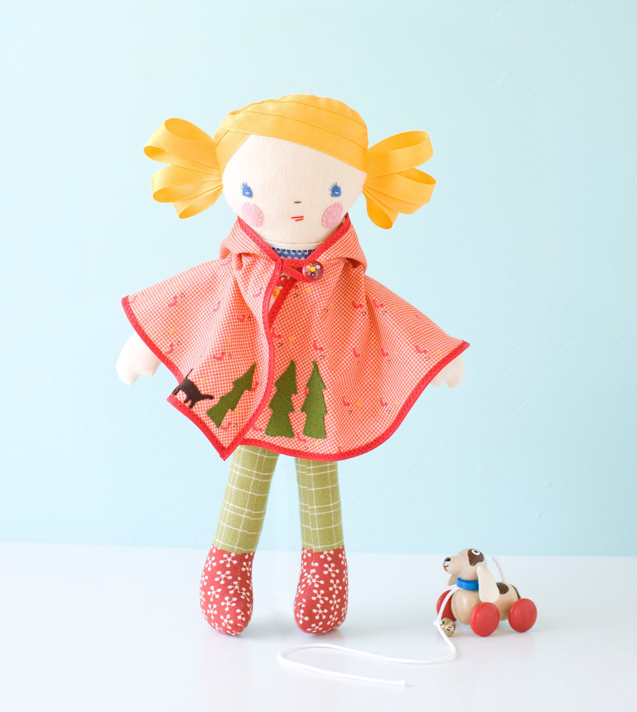 Storybook doll from the book