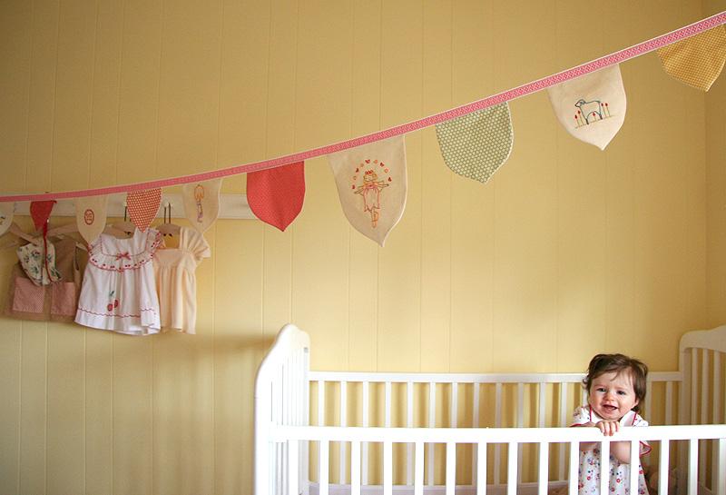tulip stitchette banner nursery